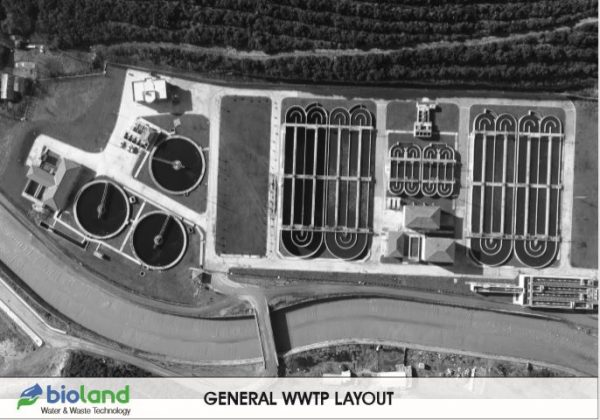 GENERAL WWTP LAYOUT